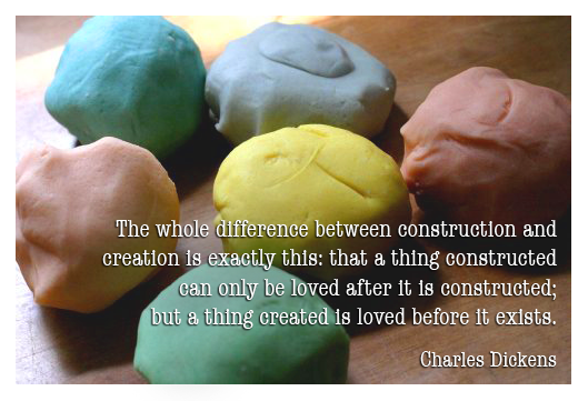 construction vs creation | Jake Vander Ark